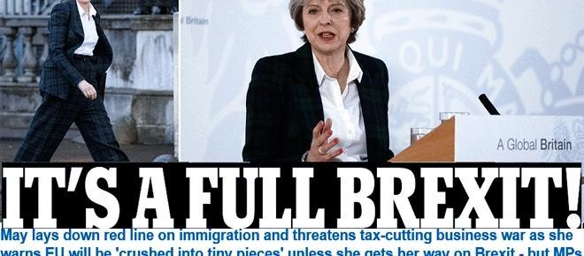 Brexit : après le discours de Theresa May, les réactions continentales