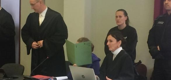 Xenia I. auf der Anklagebank Foto: mz.web.de/Lisa Garn