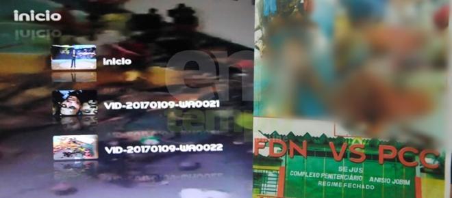 'FDN x PCC – o massacre': ambulantes lucram com rebelião.'Vendeu igual água'