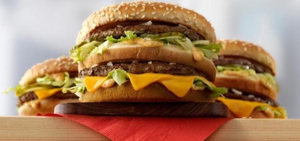 Big Mac flanked by Mac Jr. and Grand Mac / Photo from 'The Business Journals' - bizjournals.com