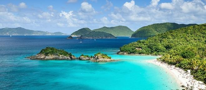 Ilhas Virgens oferece dinheiro para visitantes e turistas