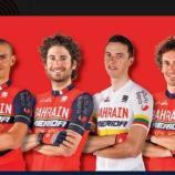 Il Team Bahrain Merida di Nibali per la Volta de San Juan
