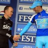 Nibali vittorioso alla Tirreno Adriatico davanti a Froome