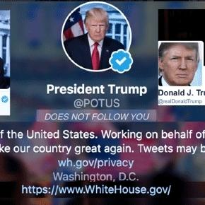 Donald Trump, qui dispose aussi à présent de la page Potus sur Twitter, purge les sites gouvernementaux américains