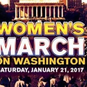 MArcha de las mujeres en contra de Trump
