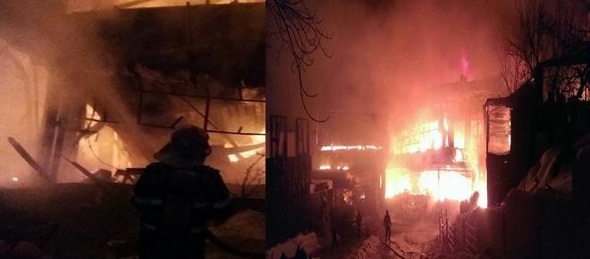 Incendiu devastator la clubul Bamboo din București azi dimineață. Zeci de răniți