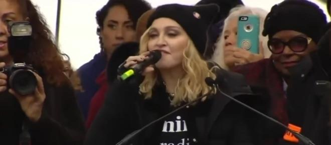Madonna rips Donald Trump during Women's March, thought of 'blowing up' the White House