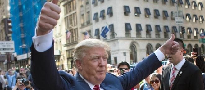 Trump pfeift und die Manager tanzen!