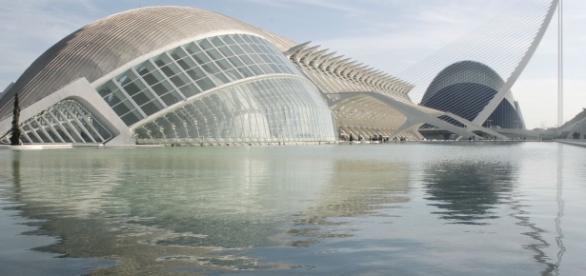Die Ciudad de las Artes y de las Ciencias in Valencia
