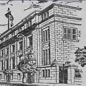 Die Bank der Lodzer Industriellen hatte 1939 einen Rekordbeitrag für Ziele der Verteidigung Polens gesammelt. Litzmannstaedter Zeitung, public domain