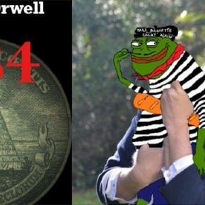 La grenouille, symbole des ''Déplorables'' partisans de Trump, se décline à la ''Framçaise'' et fait le tour du monde