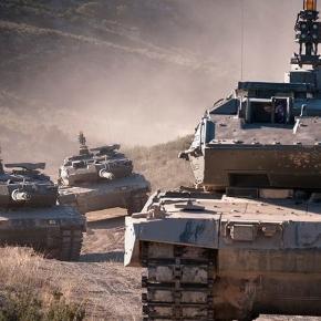 Leopard 2e, del ejercito español.
