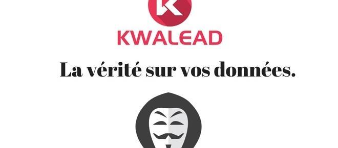 Avec Kwalead, être rémunéré pour fournir des renseignements sur soi
