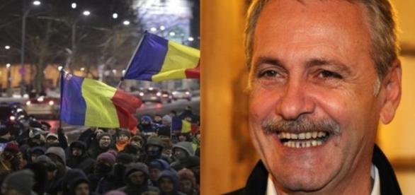 Protestatarii, mai mulți ca altădată, Liviu Dragnea, liniștit