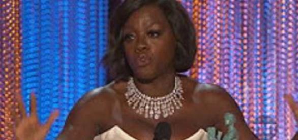 Source Youtube TNT. Viola Davis rocks SAG Awards acceptance speech