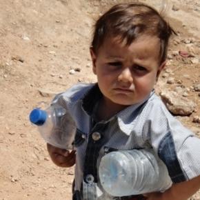Syrien: Wassermangel bedroht Kinderleben | SOS-Kinderdörfer - sos-kinderdoerfer.de