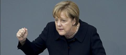 Merkt nicht, dass sie Deutschland schadet: Kanzlerin Merkel. (Fotoverantw./URG Suisse: Blasting.News Archiv)