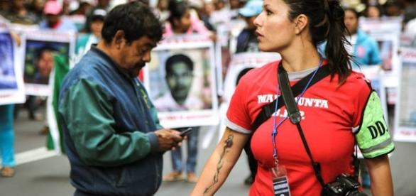 Gwen Reyes, corresponsal y activista