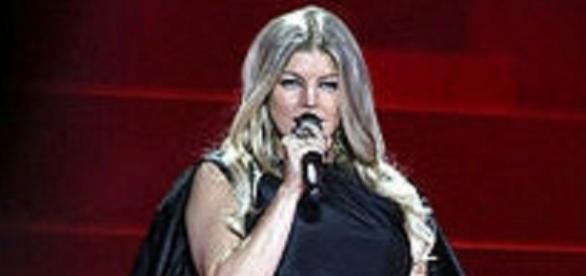 Source: Wikimedia. Fergie rocks weight loss