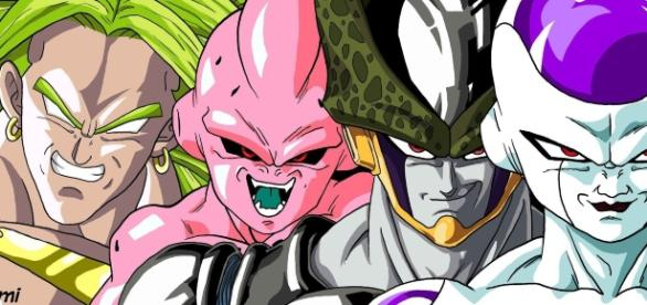 cell freezer majin buu dragon ball z Pictures, Images &amp- Photos ...