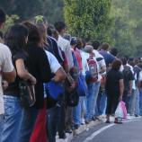 Las filas son y siempre serán , la característica de nuestro sistema, algo de que nunca podremos escapar