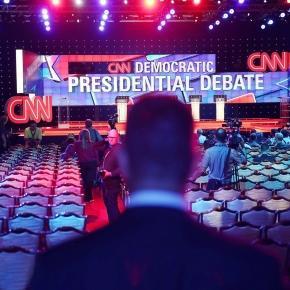 CNN covers the presidential campaign news /. Photo sourced via Blasting News Library
