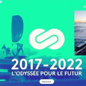L'Energy Observer sera un catamaran muni d'une aile et non de voiles, d'éoliennes, de panneaux solaire et d'un moteur à l'hydrogène