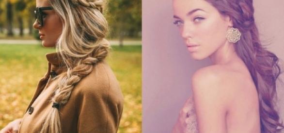 Las trenzas, representan una opción perfecta para chicas de cabello largo o corto