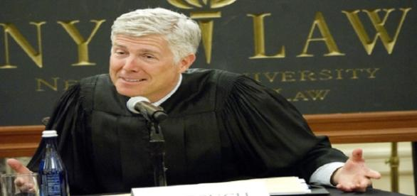 Trumps nominee for the Supreme Court, Neil Gorsuch - http://coloradopolitics.com/gorsuch-as-trumps-court-pick-he-just-might-be-dreading-it/