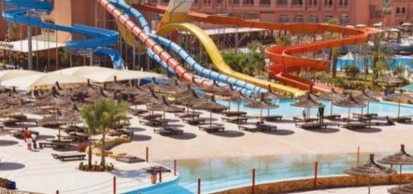 Hotel Aqua Fun, em Marraqueche, Marrocos