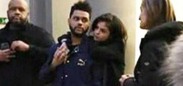 The Weeknd and Selena Gomez ... - hollywoodlife.com
