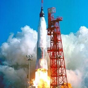 Launch of Friendship 7 (Courtesy NASA)