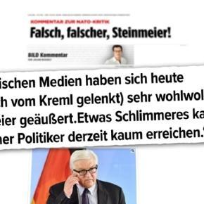 Umfragen sehen Steinmeier als beliebtesten Politiker in Deutschland und somit als geeigneten Bundespräsidenten
