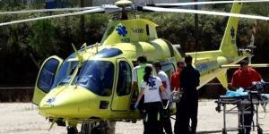 Vítima foi transportada de helicóptero do INEM para um hospital de Lisboa