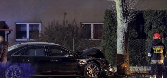 Kolejny wypadek z udziałem rządowej limuzyny (fot. gazeta.pl)