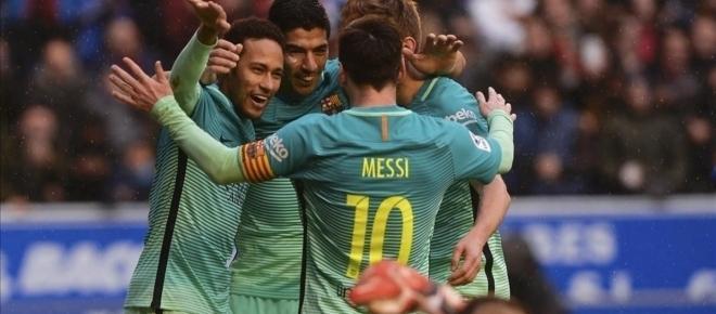 El Barça se pasea en Mendizorroza