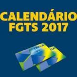 O calendário informa datas de saque das contas inativas do FGTS.