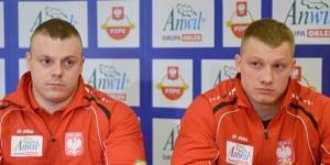 Adrian Zieliński (L) i Tomasz Zielińśki (P)