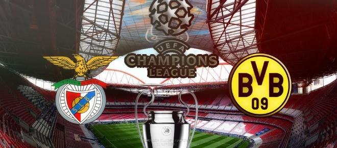 Antevisão do Benfica vs Borussia Dortmund
