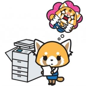 All work and no play turns Sanrio's Retsuko into 'Aggressive Retsuko' or 'Aggretsuko'. / Photo from CLEO Malaysia - com.my