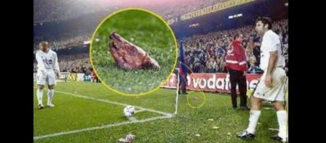 Los 10 objetos más raros lanzados a un campo de fútbol