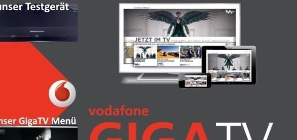 VodafoneGigaTV im Test / Fotos: Vodafone, Blastingnews/privat