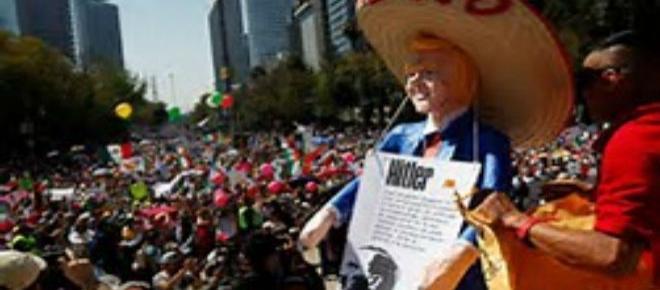 A falta de educación y nacionalismo México no impacta con sus manifestaciones