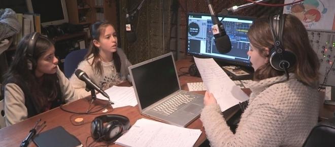 Primeira rádio online feita por miúdos para crianças, pais e professores