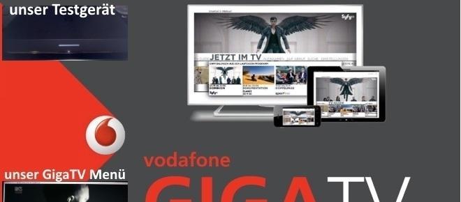Vodafone GigaTV im großen Test: HD top, SD Flop und UHD fehlt!
