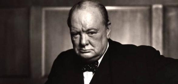 Foto del primo ministro Winston Curchill