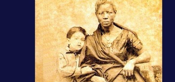 To libertyni posiali nienawiść rasową! Biały panicz i jego niania, Brazylia 1860.