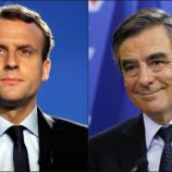 Duel pour le second tour face à Marine Le Pen : E. Macron ou F. Fillon ?