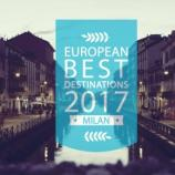 European Best Destination: Milano al secondo posto - fortementein.com