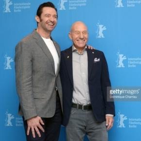 "Hugh Jackman și Patrick Stewart la premiera filmului ""Logan"" la Festivalul de Film de la Berlin - Foto: GettyImages"